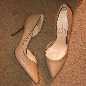 Jessica Simpson Snake Skin Heels